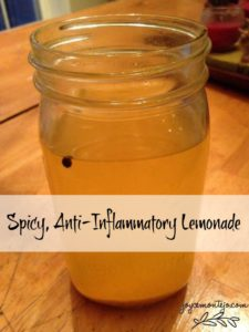 Spicy, Anti-Inflammatory Lemonade